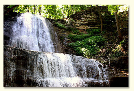 Waterfall by Marc Lesage